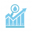 incremento del ahorro de agua icono